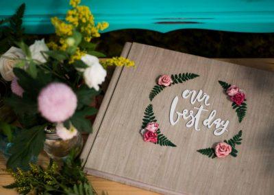 album-personalizado-boda-floral