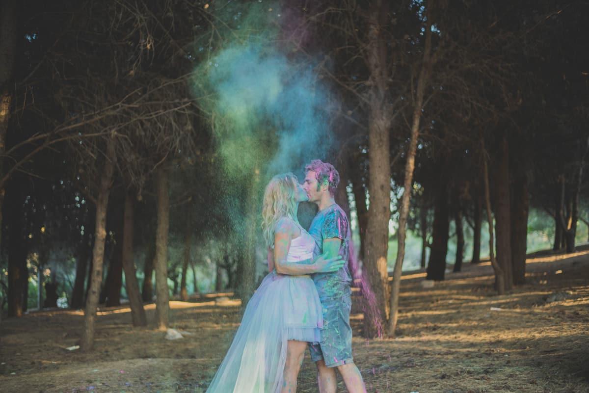 humos de colores