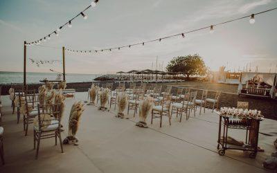 Candado Beach, decoracion para boda